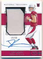 JOSH ROSEN 2018 NATIONAL TREASURES RC ROOKIE AUTOGRAPH 2 COLOR PATCH AUTO SP /99