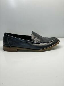 Sperry STS83741: Women's Black Seaport Penny Loafers Size 7