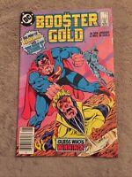 Booster Gold #7 Booster vs Superman Newsstand Variant [DC Comics, 1986]