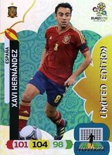 2012 Panini Adrenalyn EURO EXCLUSIVE Xavi Hernandez Limited Edition SPAIN
