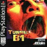 Tunnel B1 Playstation 1 Game PS1 Used