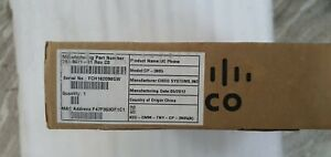 NEW SEALED Cisco Unified SIP Phone 3905 CP-3905-BE PART NUMBER CP-3905
