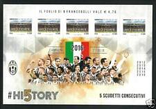 Italia Repubblica 2016 : Juventus Campione 2016 - foglietto perfetto