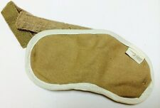 Original British Airways First Class Cotton Eye Mask – Beige/white BA 1st Class