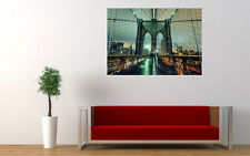 BROOKLYN BRIDGE NEW YORK CITY NEW GIANT LARGE ART PRINT POSTER PICTURE WALL