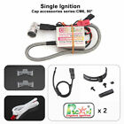 Rcexl Automatic Single Ignition CDI for NGK CM6 10mm 90° Spark DA DLE 6-14.4V