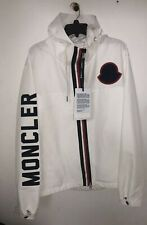 New 100% Auth Moncler Montreal Expandable Jacket White Size 5 Fits like XXL