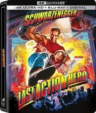 Last Action Hero Steelbook (4K Ultra HD/Blu-ray/Digital)