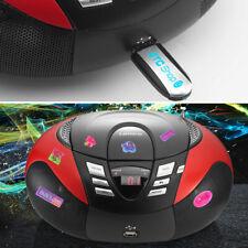 Enfants Chambre Musique CD Lecteur MP3 Système Stéréo Puffy Autocollants Hifi