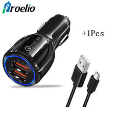 Dual USB 3.1A Car Quick Charger QC 3.0 Fast Charging for Samsung iPhone Sony HTC