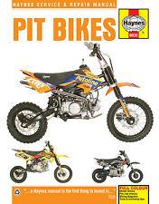 Haynes Service & Repair Manual for Pit Bikes Stomp WPB Demon -X Thumpstar