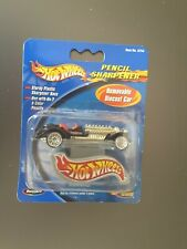 Hot Wheels Pencil Sharpener With Removable DieCast Vehicle