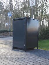 1 Mülltonnenbox  o.Stanzung Anthrazit komplett RAL 7016 für 120Liter Mülltonnen