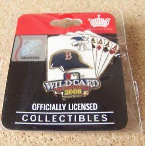 2008 Boston Red Sox A.L. AL American League Wild Card pin MLB