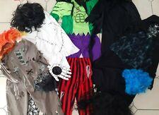 Joblot Bundle Kids Fancy Dress Dressing Up Outfit/Wigs, Halloween, Book Day!