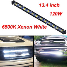 12000LM Aluminum Spot Beam Slim LED Car Truck SUV Off road Single Work Light Bar