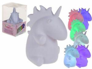 Unicorn Nachtlicht Mit Farb Verändernd LED Stimmung Lampe (Batterie Betrieben)