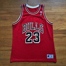 Chicago Bulls Vintage Michael Jordan Champion NBA Basketball Jersey 48 '90s