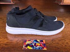 Nike Air Sockracer Flyknit Mens Running Shoe Black/White  898022 001 Size 13