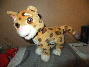 Fisher Price 2006 Go Diego Go Animal Rescue Talking Baby Jaguar Plush