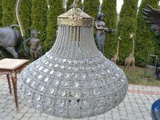 LIGHTING CRYSTAL - BRASS CHANDELIER 65 CM SILVER