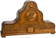 A Large Intarsia Clock Commemorating The 1929 Round-The-World Fligh. Lot 65139