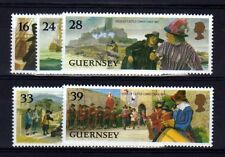 GUERNESEY - GUERNSEY Yvert n° 620/624 neuf sans charnière MNH
