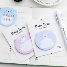 Random Cute Cartoon Fat Bear Post Bookmark Maker Memo Flags Post-It Sticky Notes