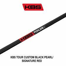 Kbs Tour Custom Black Pearl/Signature Red Shafts - S Flex