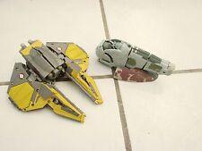 Star Wars Interceptor & Slave 1 Transformers Robot 2005 Lfl