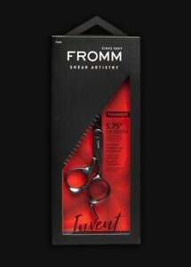 """F1014 Fromm Shear Artistry EXPLORE 5.75"""" 28-Tooth Thinner Black"""