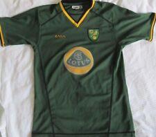 Norwich City Football Away Shirt, Circa 2004/05 Size Y X/Large.