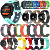 New Silicone Watch Band Strap For Garmin Forerunner 35 735XT 220 230 235 620 630