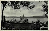 Potsdam Krampnitz Brandenburg s/w AK 1941 gelaufen Blick auf den Krampnitz See