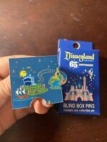 Map Puzzle- Haunted Mansion Pirates Splash - Loungefly Disneyland 65th Pin