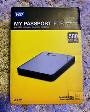 WD PASSPORT FOR MAC 500gb Portable Storage