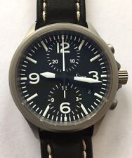 Sinn 756 TEGIMENT Pilot Chronograph on Sinn Leather Strap in Fantastic Condition