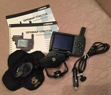 Garmin GPSMAP 176C bundle w/ Weighted Mount and Charger- Marine GPS Chartplotter