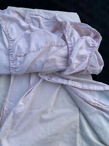 LADIES LIGHT PINK SINGLE FITTED SHEETS