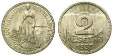 CONSEJO DE ASTURIAS Y LEON. 2 PESETAS. 1937.