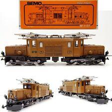 BEMO h0m carreggiata stretta 1055 E-Lok coccodrillo GE 6/6 RH B 413 Top/Scatola Originale c3440