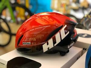 HJC Furion 2.0 Semi-Aero Road Helmet 58-63cm Size L (LOTTO SOUDAL FADE RED)