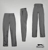 Mens Slazenger Mesh Lining Zipped Golf Waterproof Trousers Sizes from S to XXXL