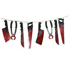 Spooky Halloween Party Haunted House Hanging Garland Pennant Banner E5P7