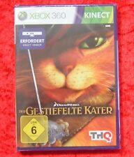 Der gestiefelte Kater Kinect, XBox 360 Spiel, Neu, deutsche Version