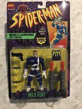 THE AMAZING SPIDERMAN NEW ANIMATED SERIES NICK FURY FIGURE NEW 1994