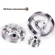 VW Golf MK4 1.8 T 20 V 3 piezas conjunto de rendimiento de aluminio Polea del Motor Nueva actualización