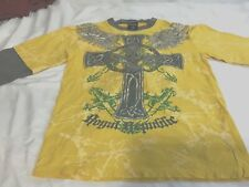 Royal Republic Youth Tee Size Med. with Celtic Cross, long sleeve