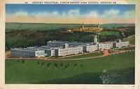 Postcard Hershey Industrial Junior Senior High School Pennsylvania