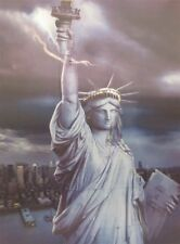 Poster Print 3d picture of the Statue of Liberty, great for Home Decoration Y033